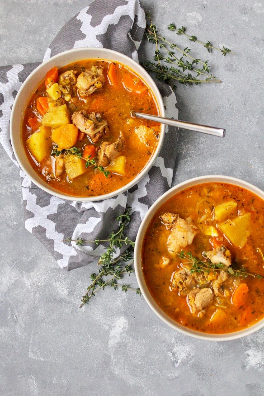 Photo of Jamaican-style Saturday soup by Digital 360 Coach Nancy by WW