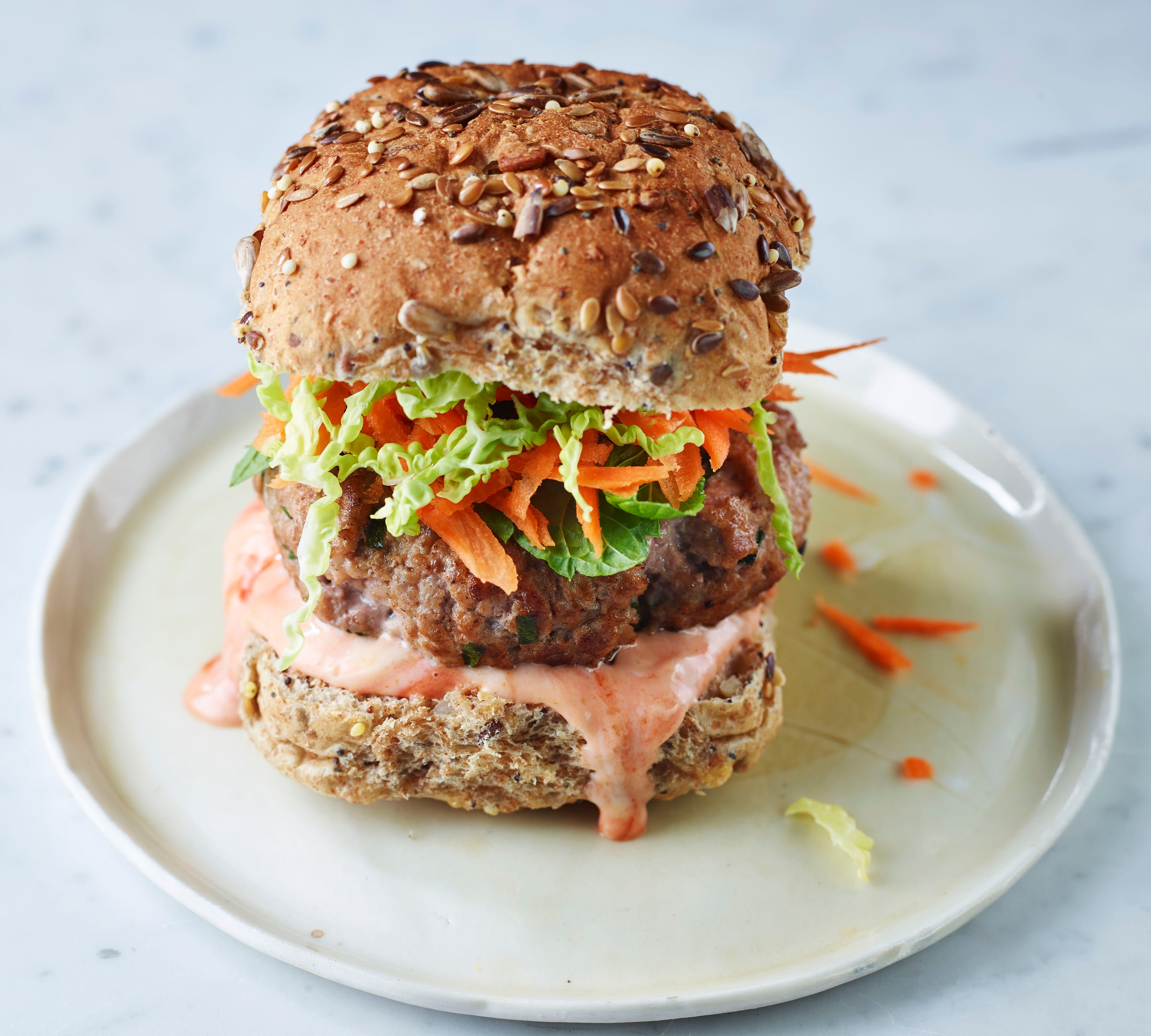 Photo of Thai-style burger by WW