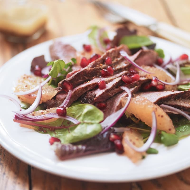 Photo of Chinese spiced duck & grapefruit salad by WW