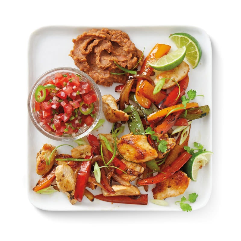 Photo of Chicken fajita dinner by WW