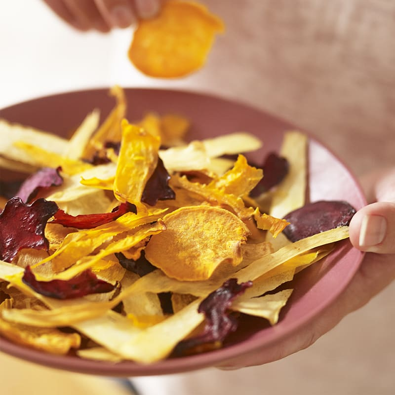 Photo of Oven roasted vegetable crisps by WW