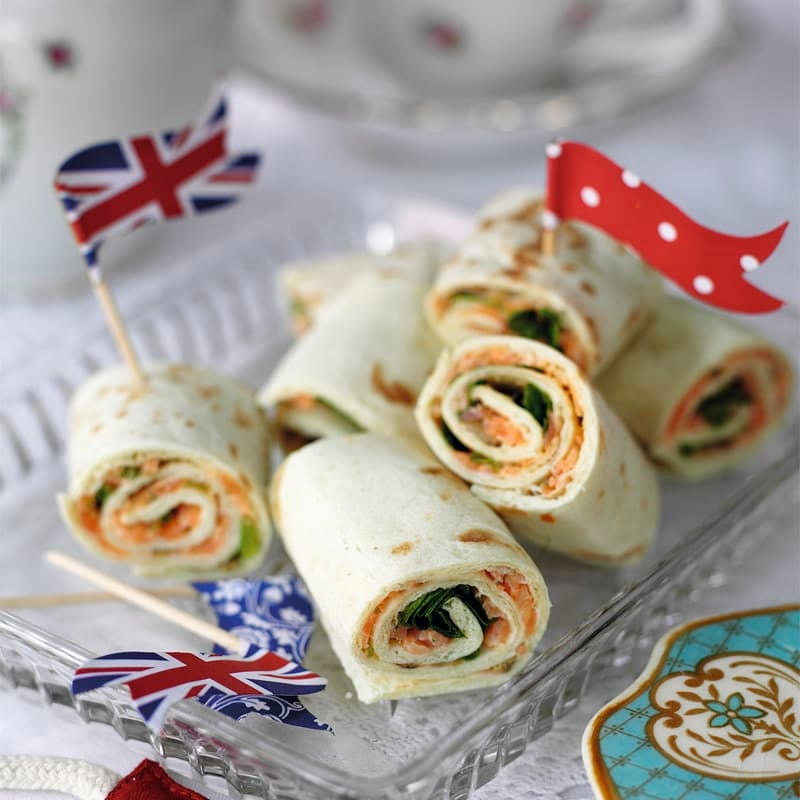 Photo of Smoked salmon & caper butter pinwheels by WW
