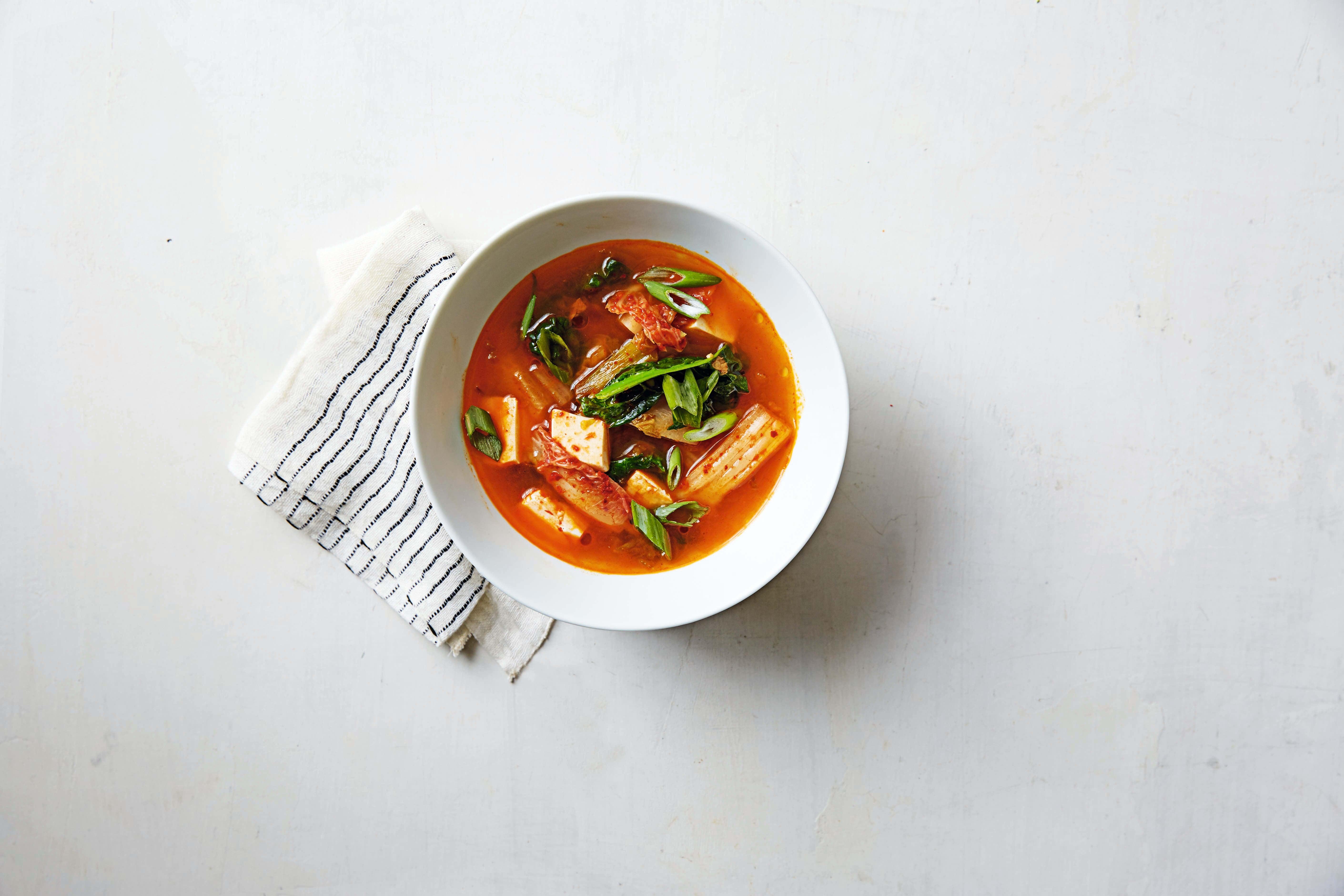Photo of Tofu & kimchi soup by WW
