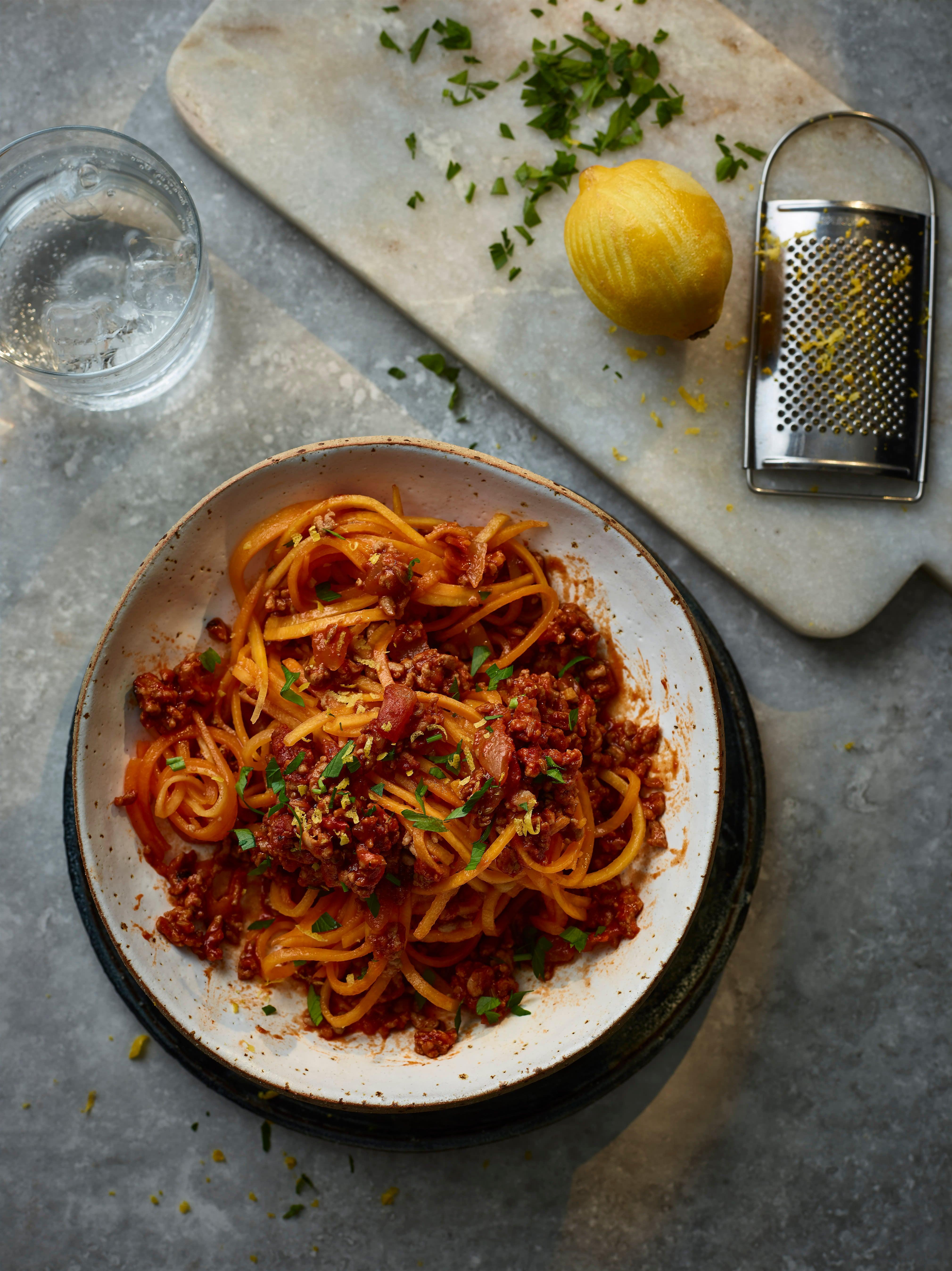 Photo of Pork & fennel ragù with butternut noodles by WW