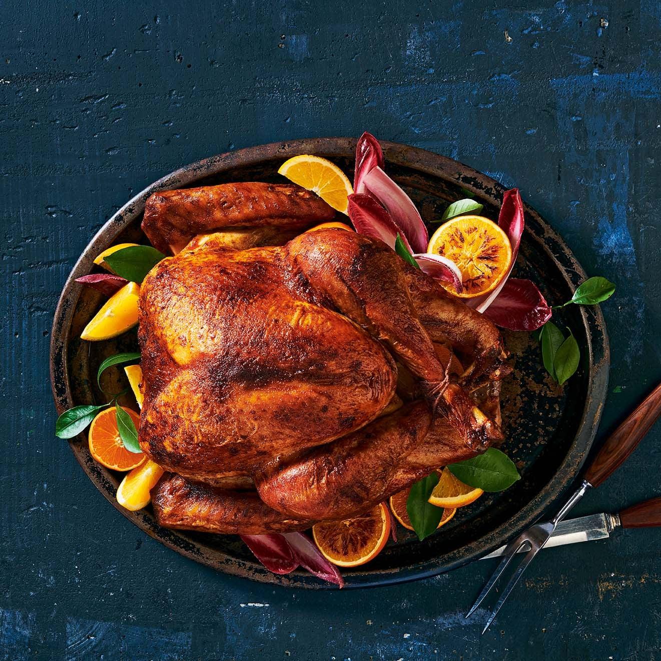 Photo of Roast turkey with smoked paprika & orange by WW