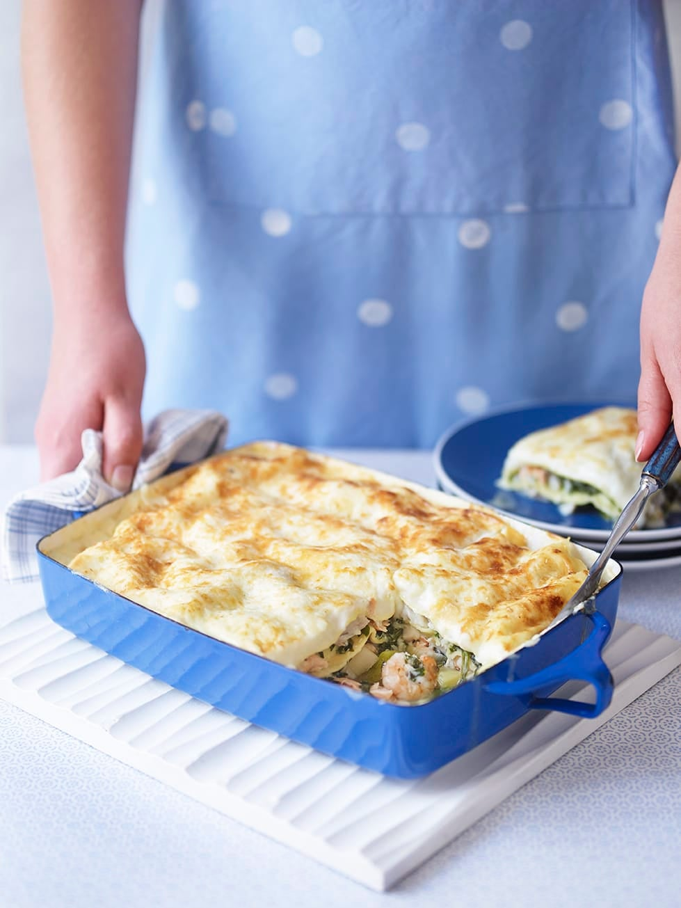 Photo of Seafood lasagne by WW