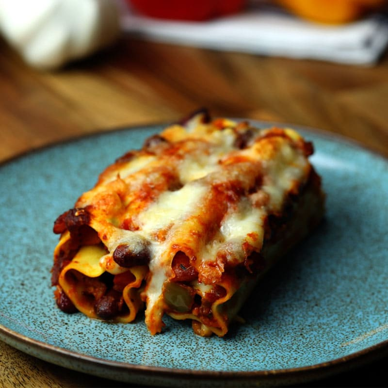 Photo of Veggie chilli lasagne roll ups by WW