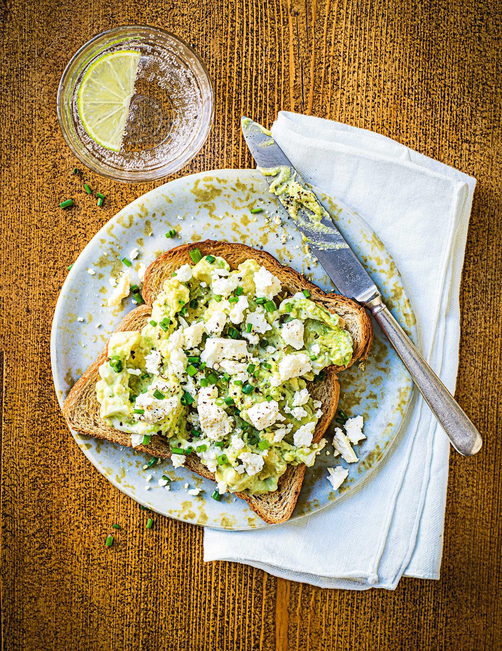 Photo of Avocado, lime & feta toast by WW