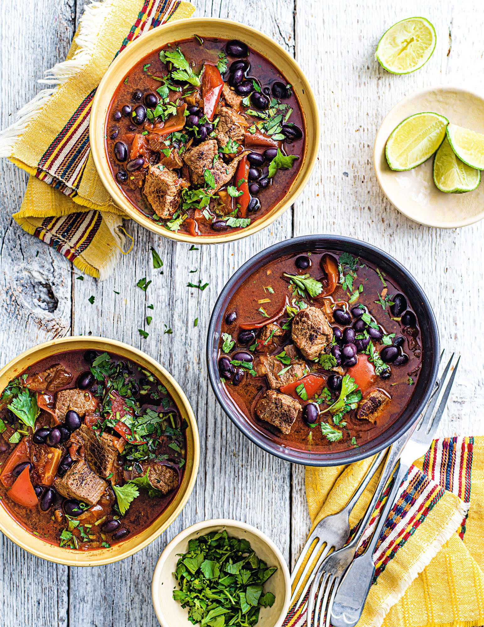 Photo of Beef & black bean stew by WW