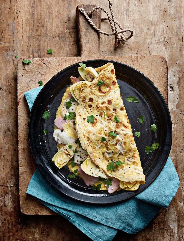 Photo of Ham, mozzarella & artichoke omelette by WW
