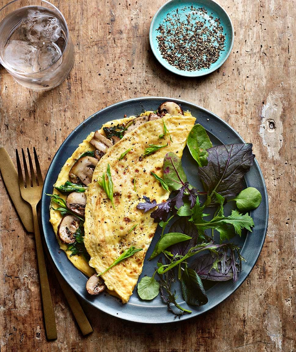 Photo of Mushroom & spinach omelette by WW