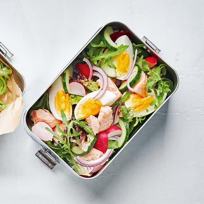 Photo of Salmon & egg salad by WW