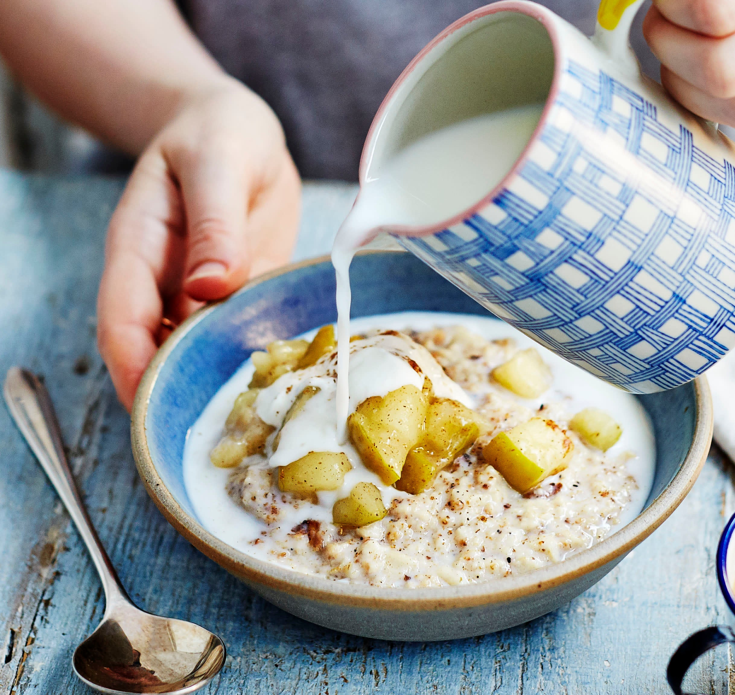 Photo of Toasty porridge with spiced apple compote by WW