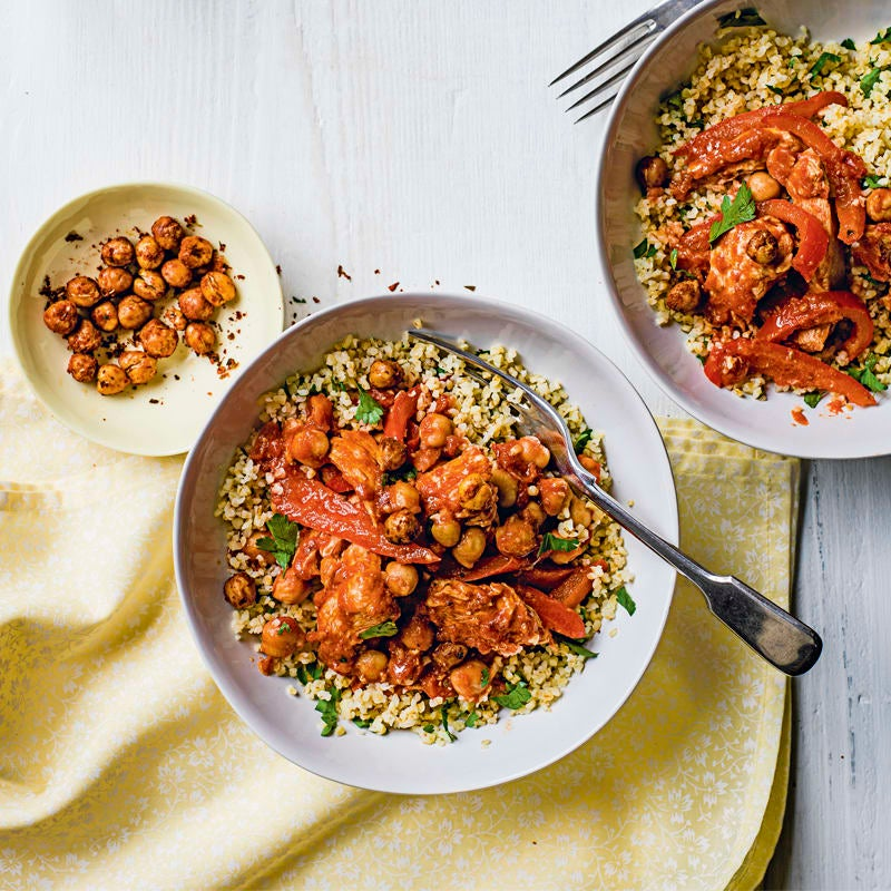 Photo of Chicken & chickpea stew by WW