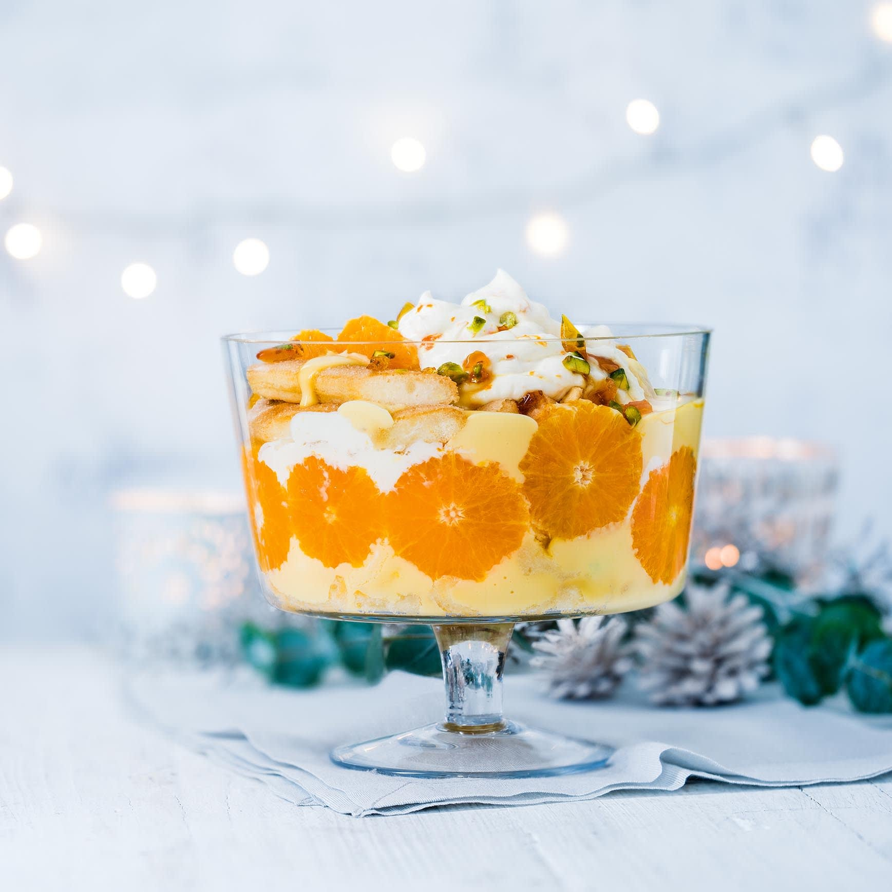 Photo of Clementine & prosecco trifle by WW