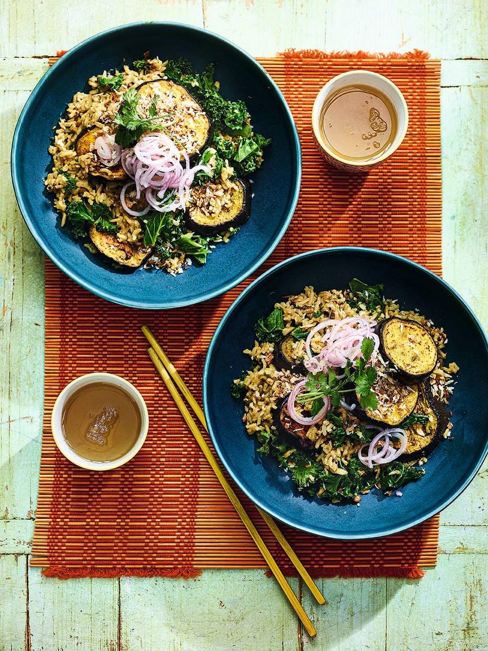 Photo of Veggie katsu rice bowl by WW