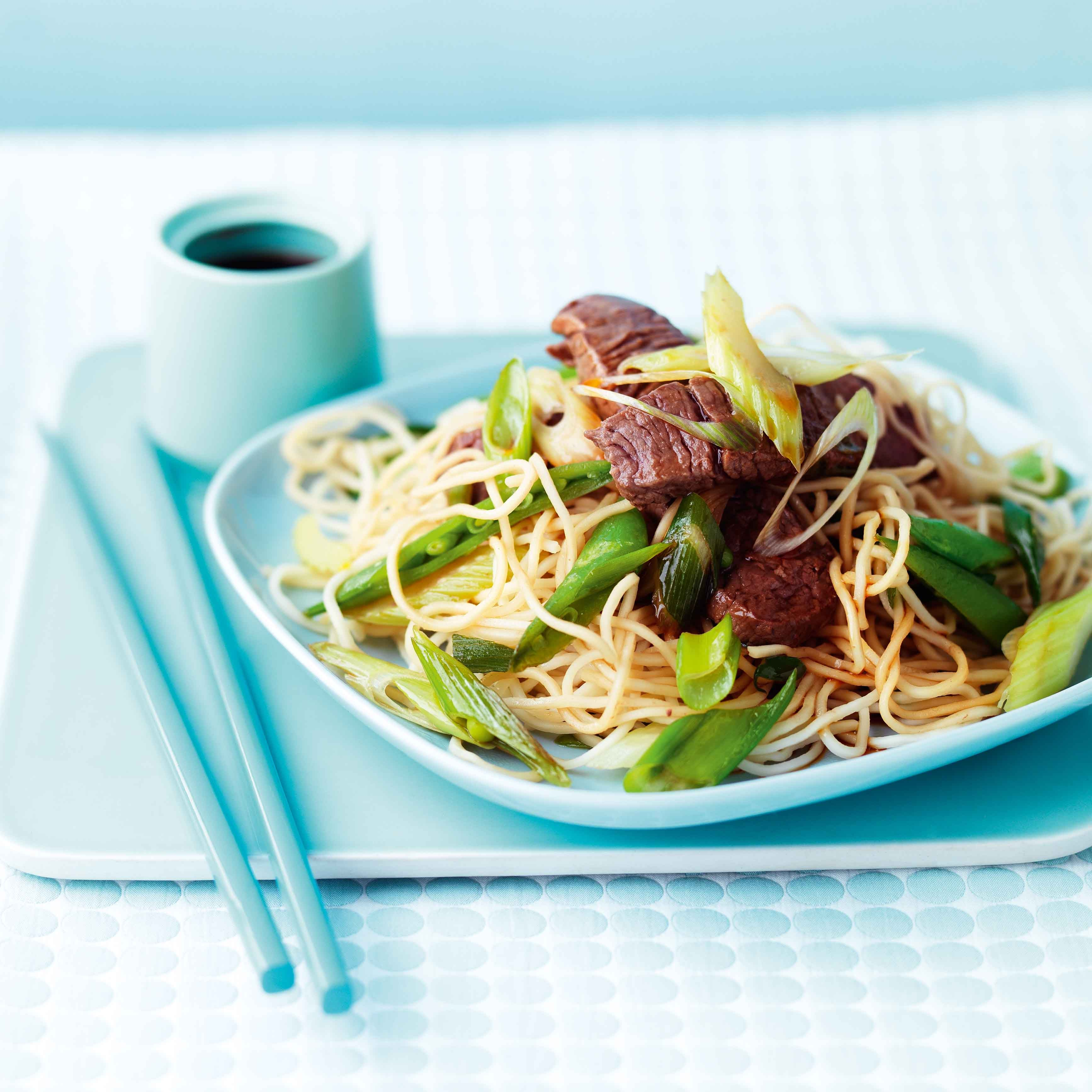 Photo of Beef teriyaki with noodles by WW