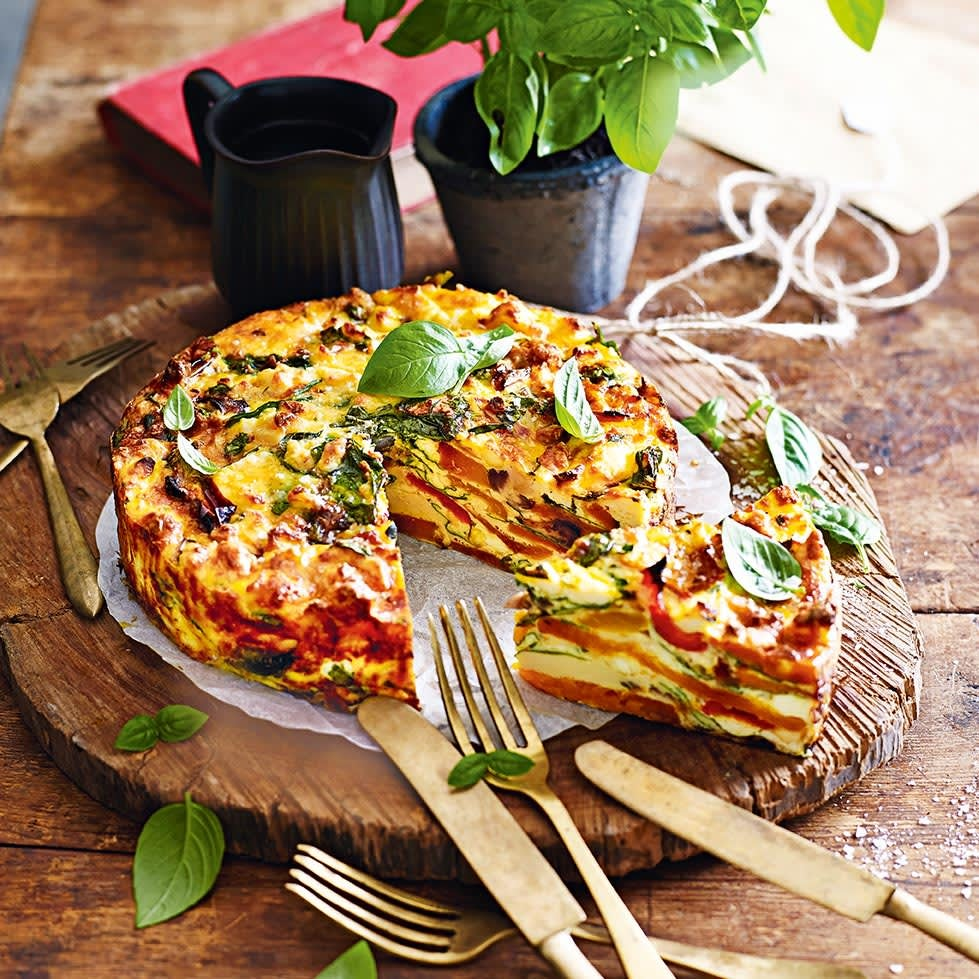 Photo of Roasted vegetable frittata by WW