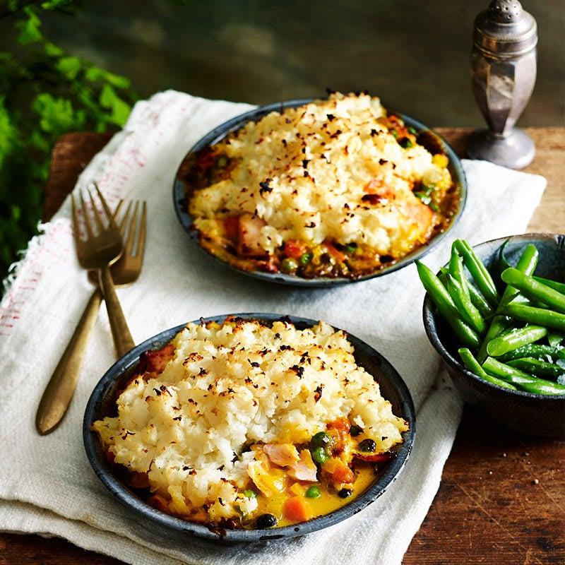 Photo of Curried cauliflower & fish pie by WW