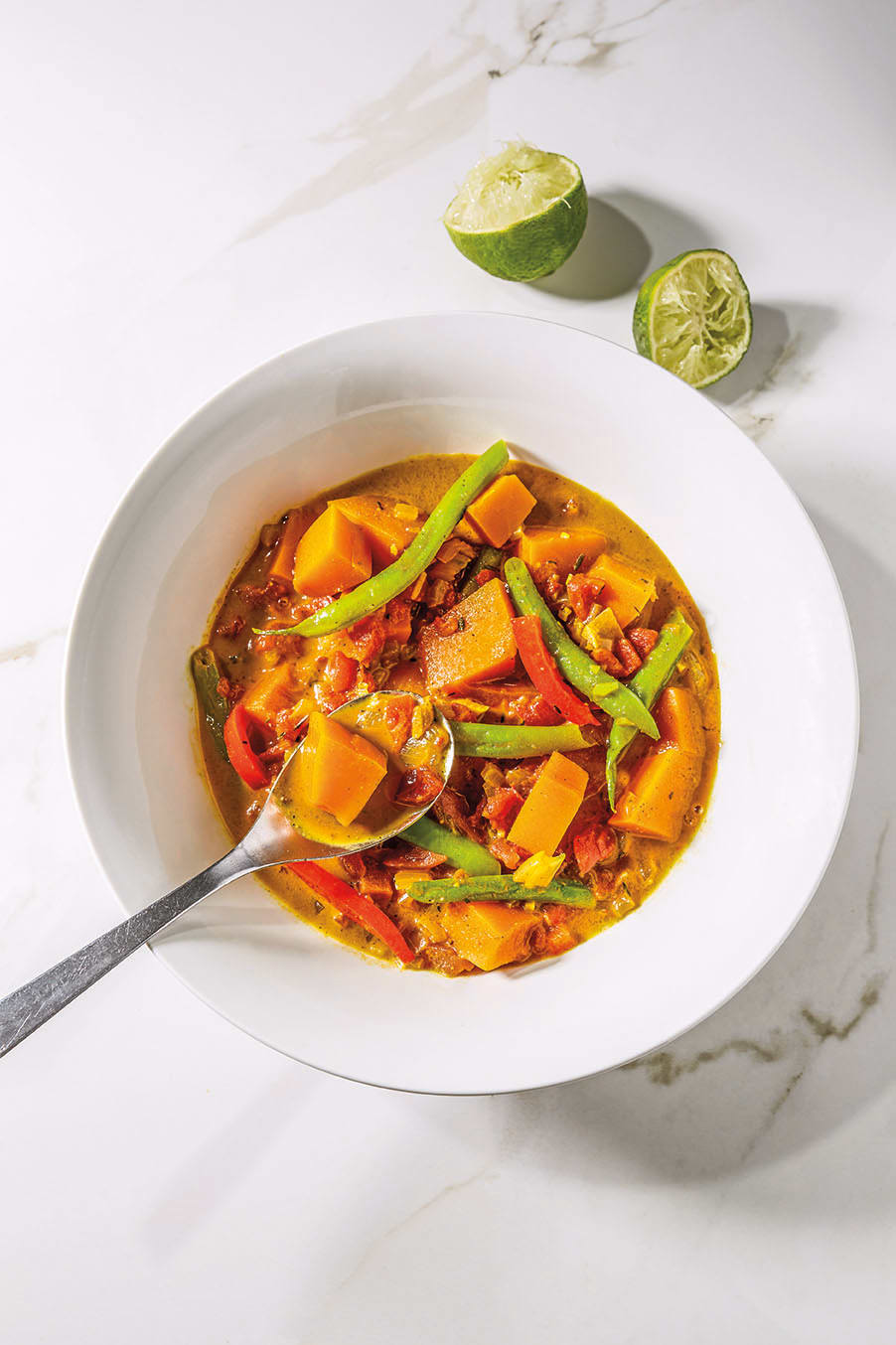 Photo of Jamaican vegetable curry by WW
