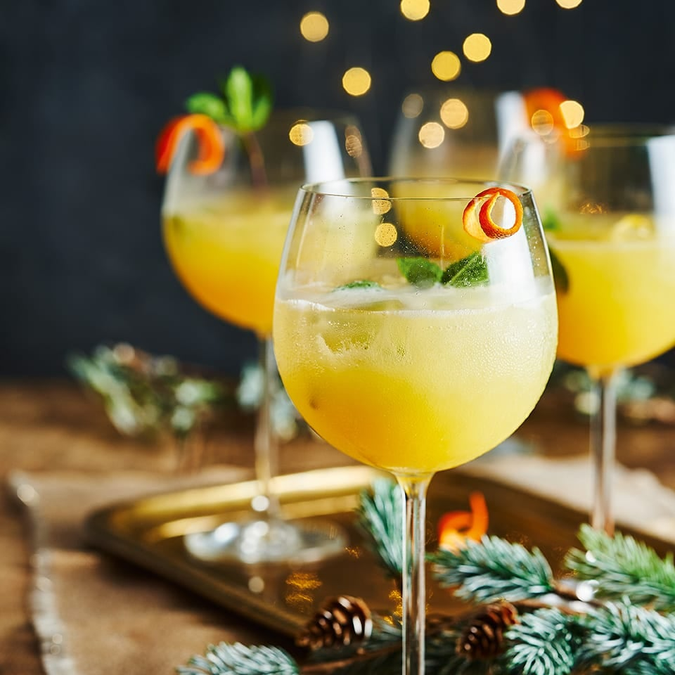 Photo of Clementine, ginger & mint fizz by WW