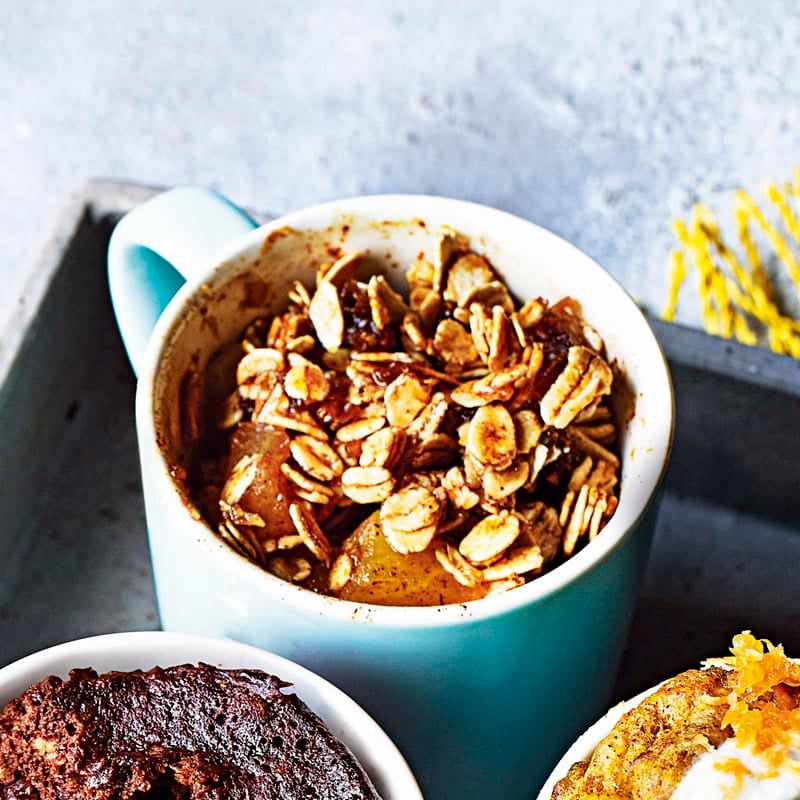 Photo of Spiced apple crumble mug cake by WW