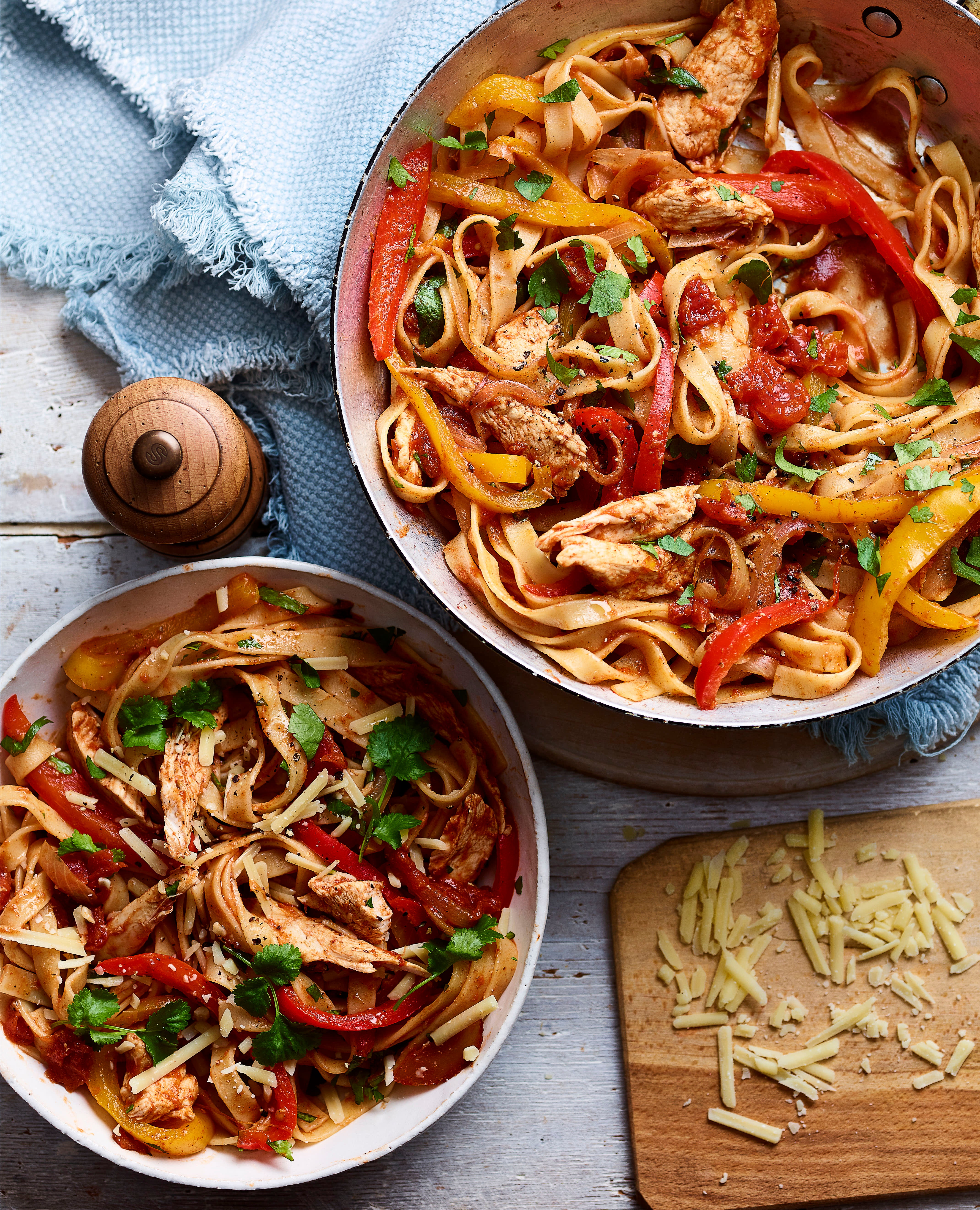 Photo of Chicken fajita tagliatelle by WW