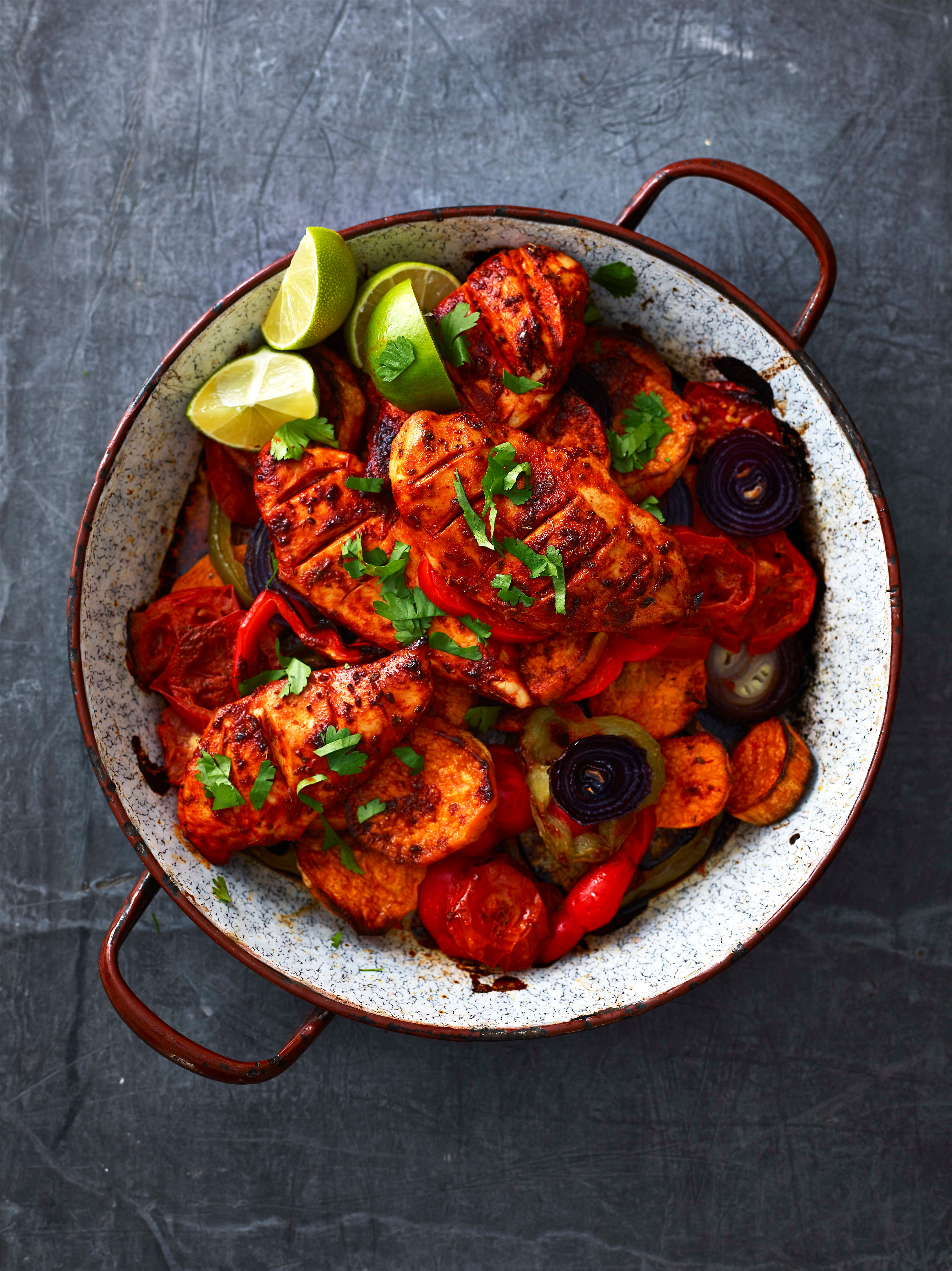 Photo of Mexican-style chicken traybake by WW