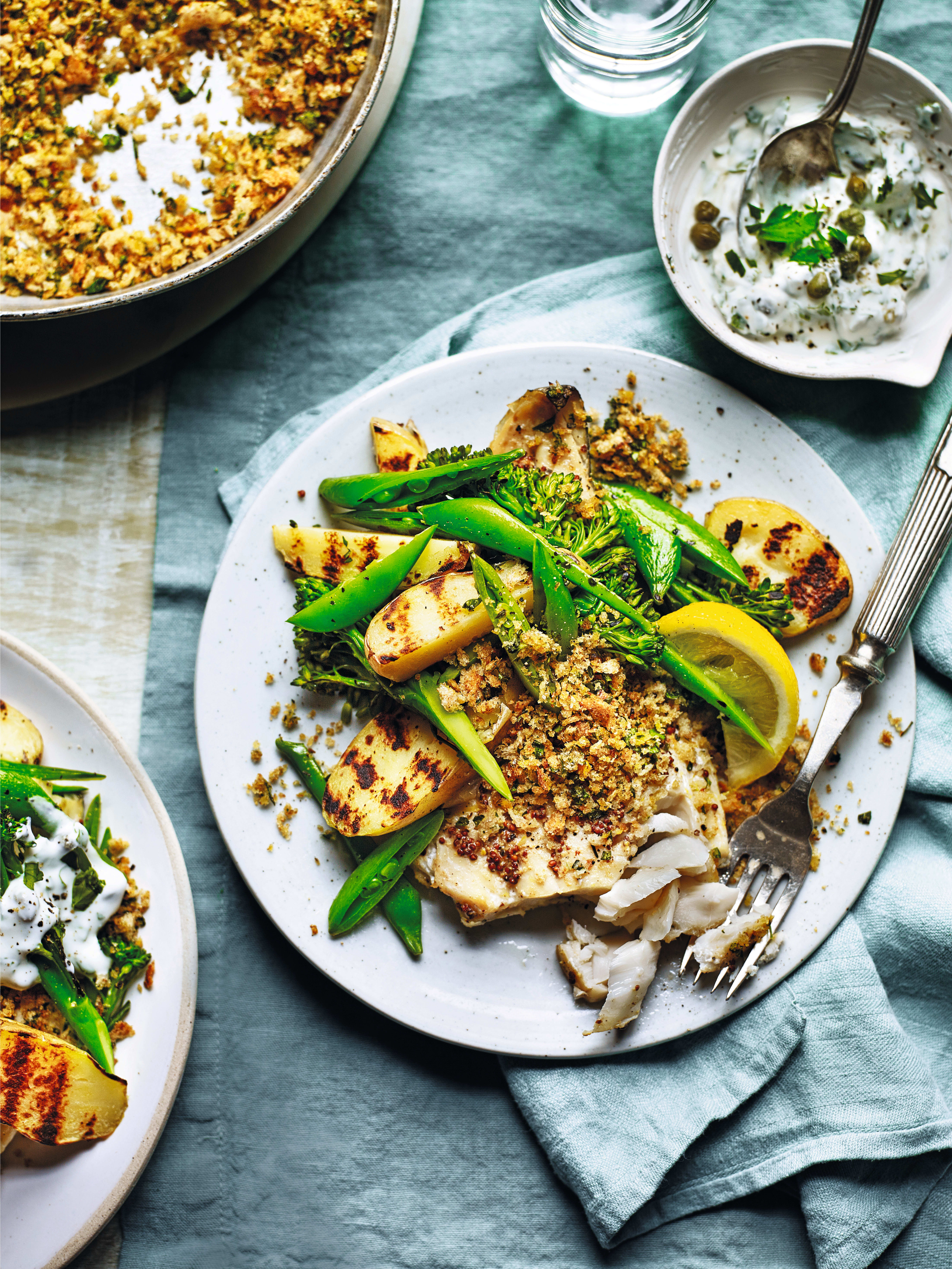 Photo of Haddock with a herb & citrus crumb by WW