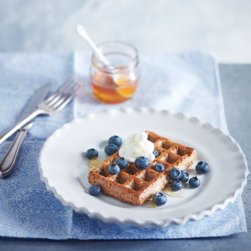 Photo of Baked oat waffles by WW