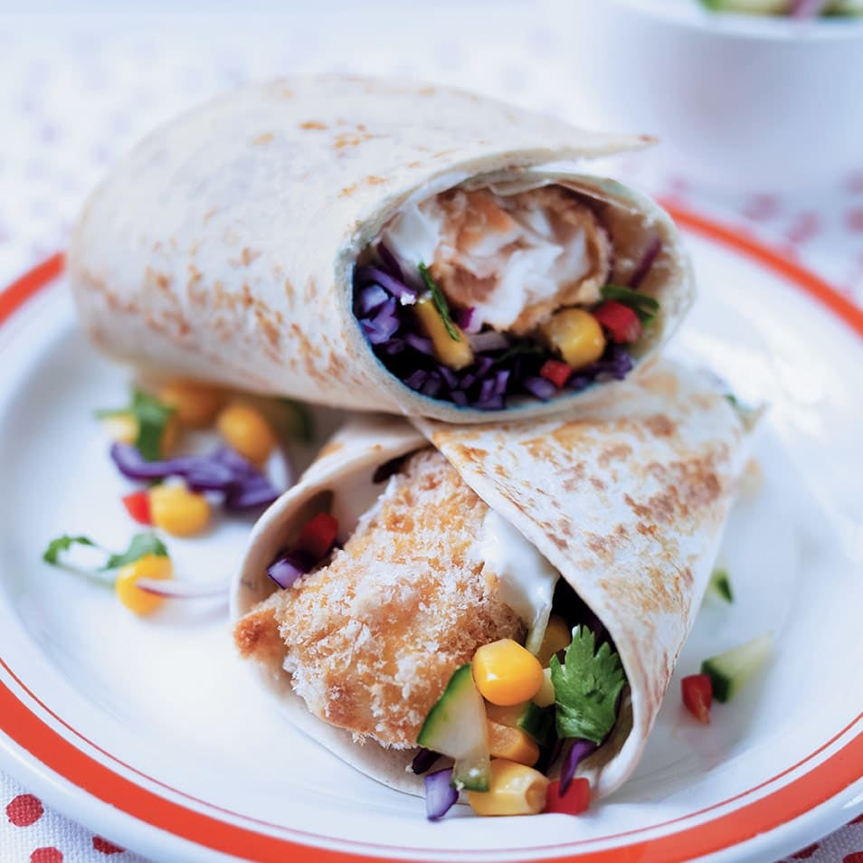 Photo of Fish finger wraps by WW