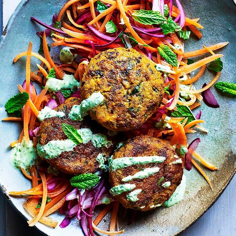 Photo of Butternut squash falafel salad by WW
