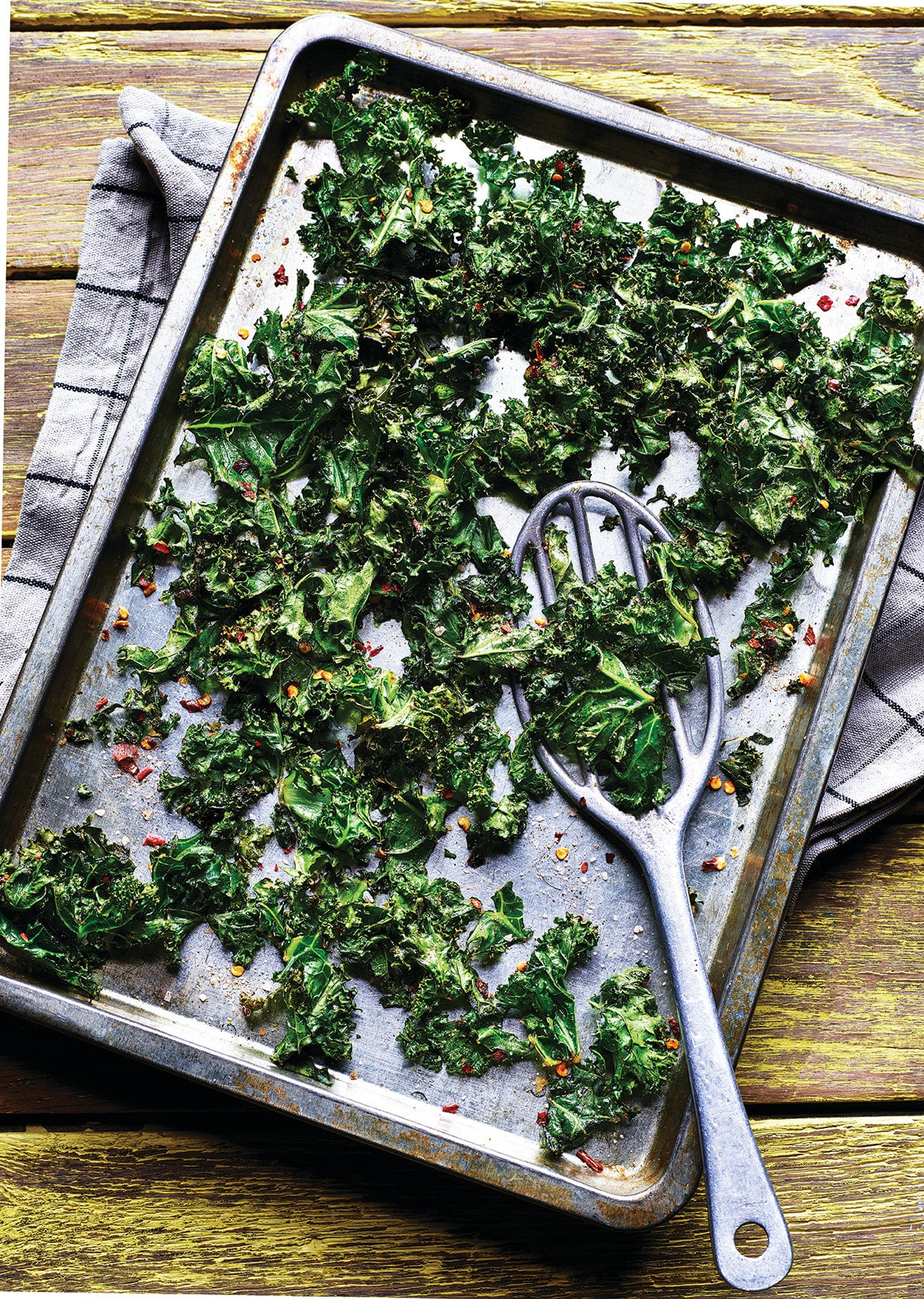 Photo of Chilli-spiced kale crisps by WW