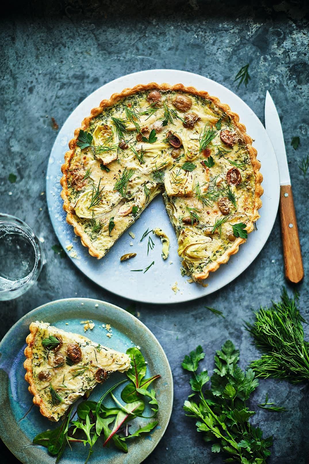 Photo of Olive & artichoke tart by WW
