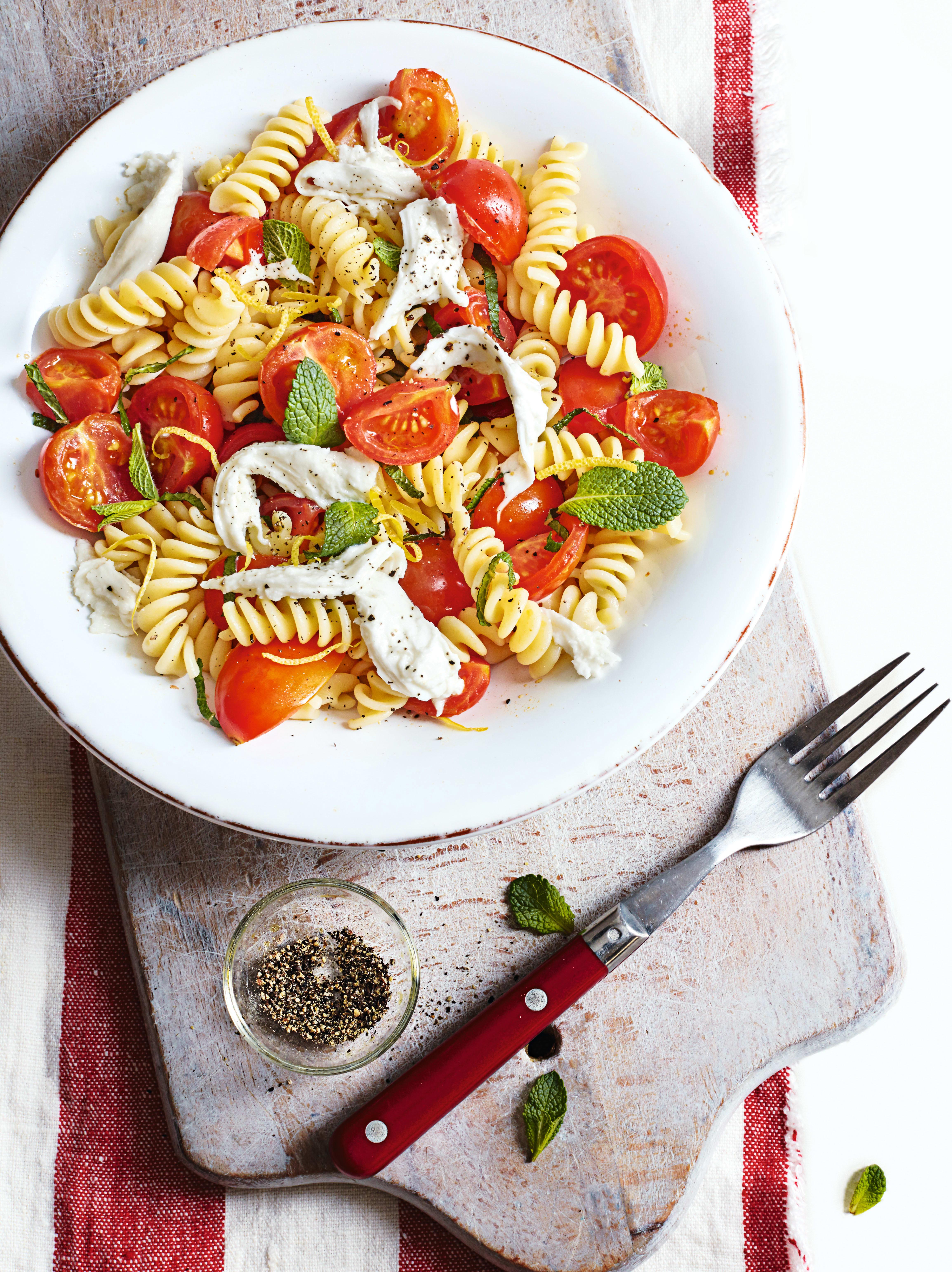 Photo of Tomato, mint & mozzarella fusilli by WW