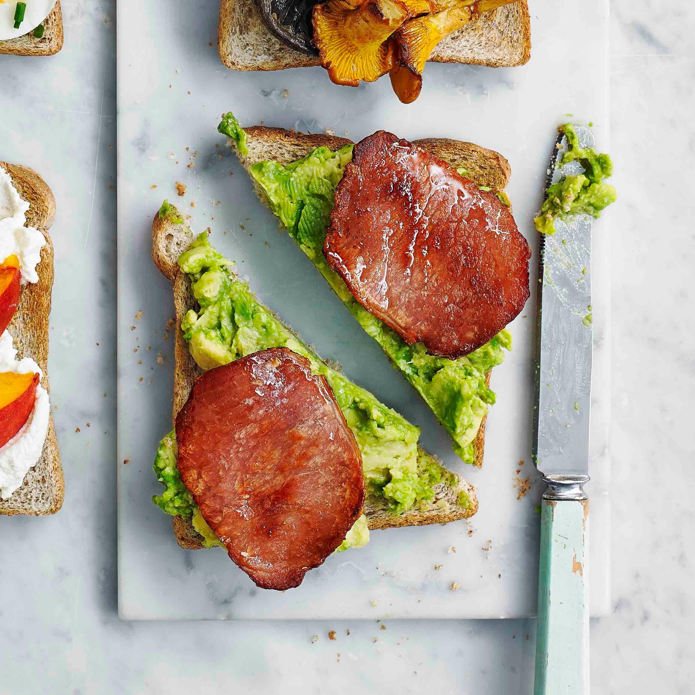 Photo of Bacon & avocado toast topper by WW