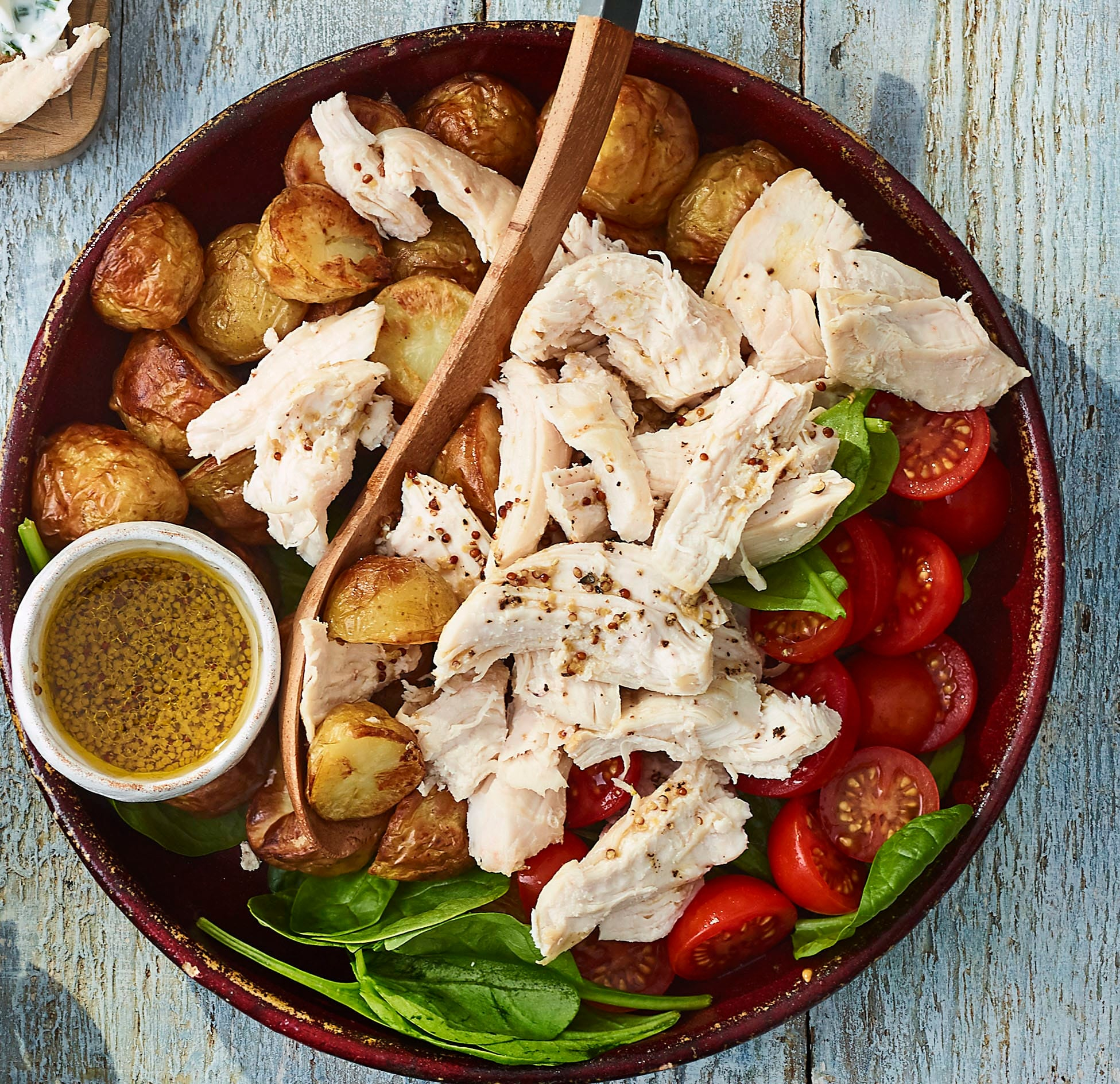 Photo of Potato, spinach & chicken salad by WW
