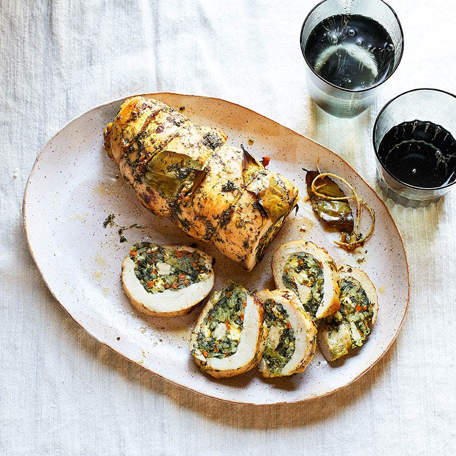 Photo of Turkey-breast roulade with spinach & dill by WW