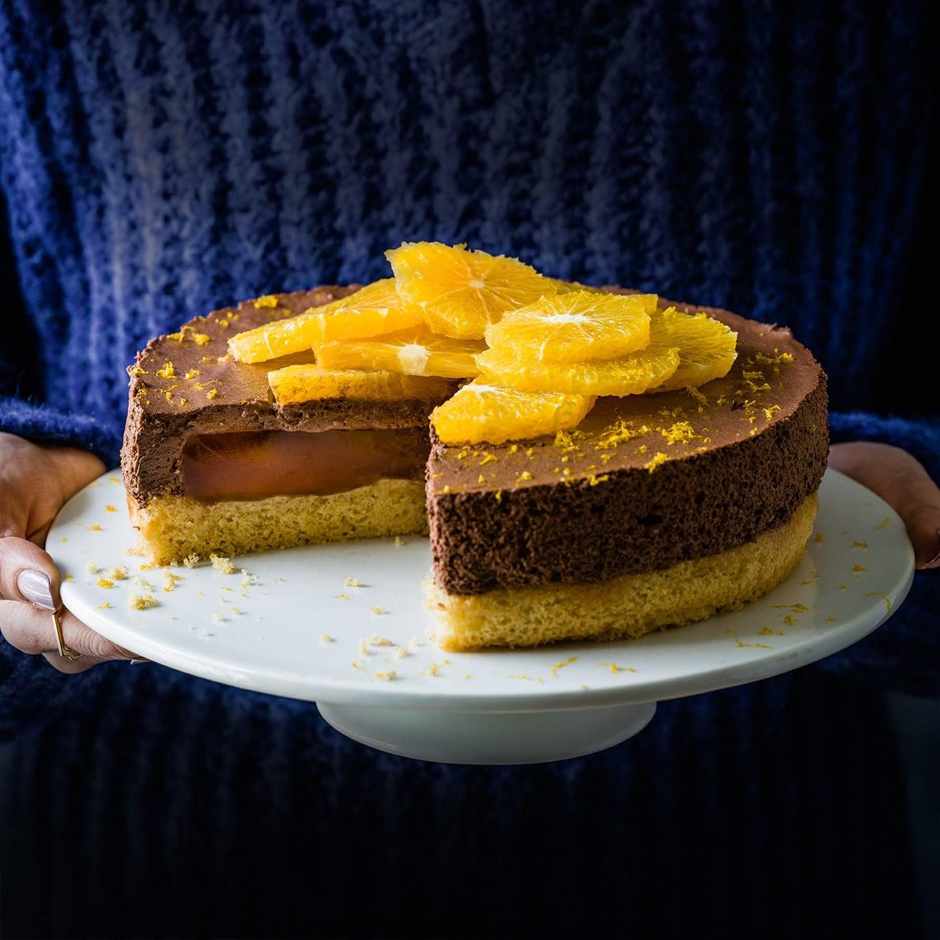 Photo of Giant Jaffa cake by WW