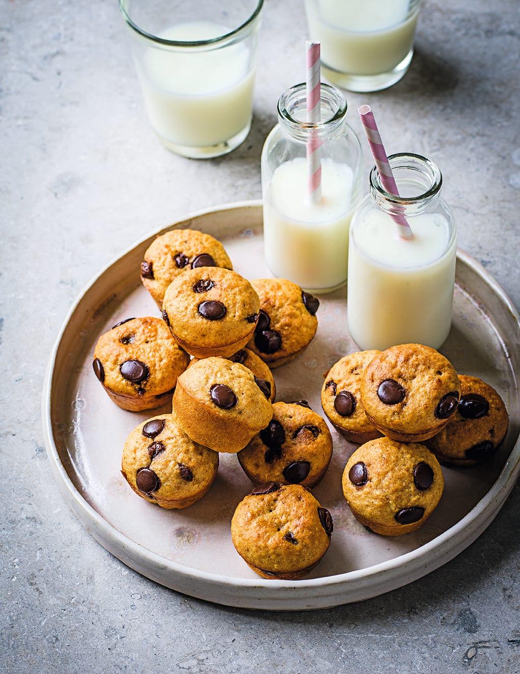 Photo of Banana & choc-chip mini muffins by WW