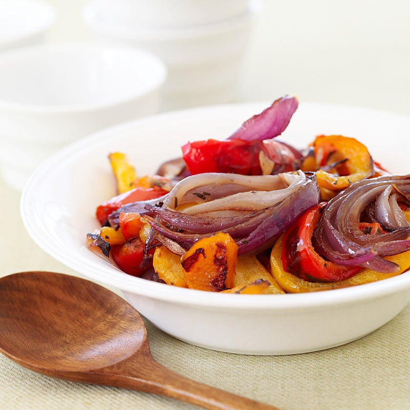 Photo of Roasted peppers & red onions by WW
