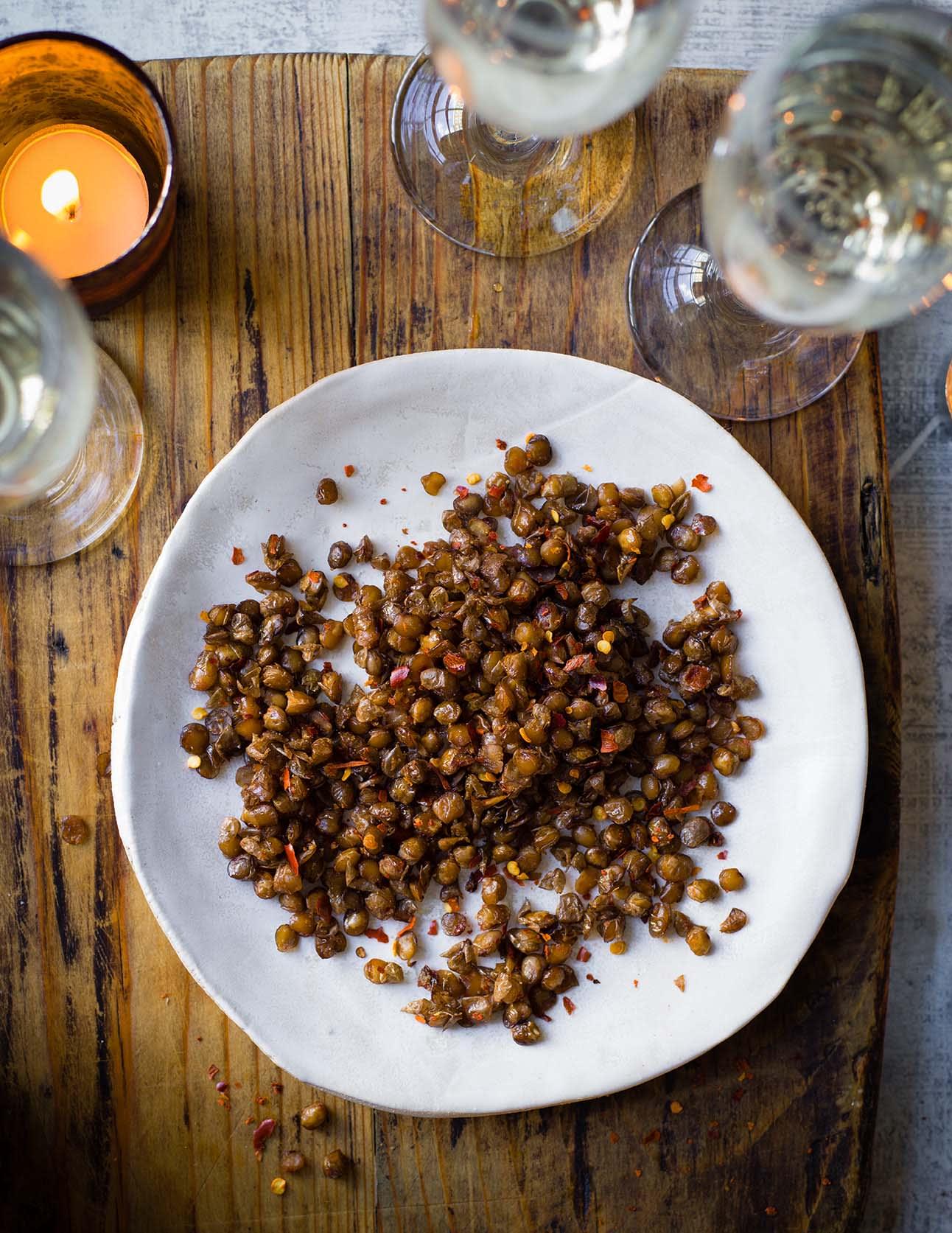 Photo of Crunchy chilli lentils by WW
