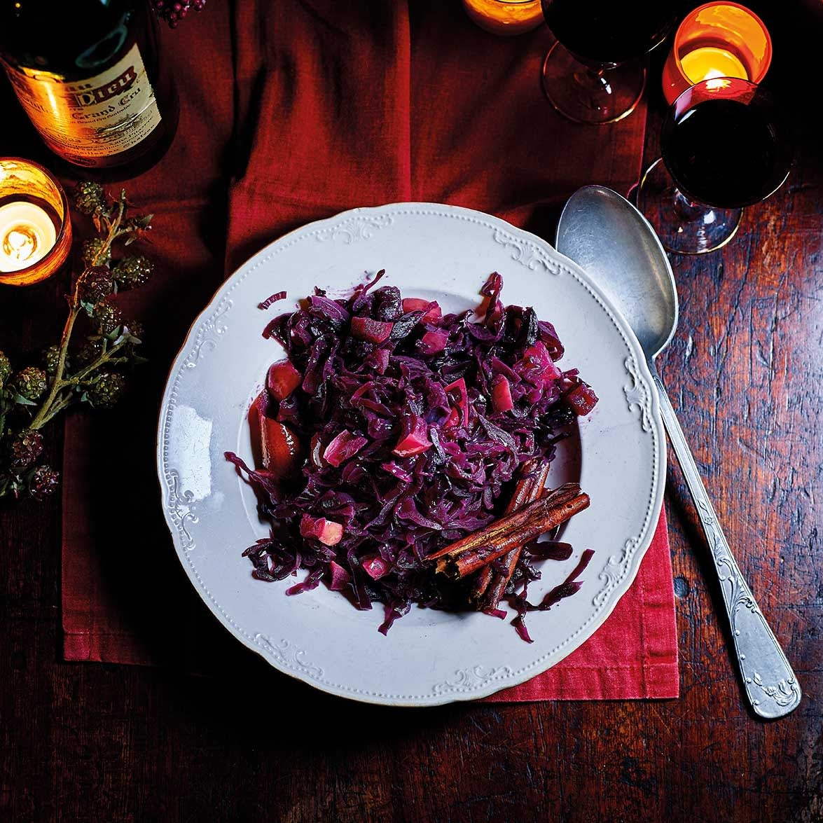 Photo of Braised red cabbage with apples by WW