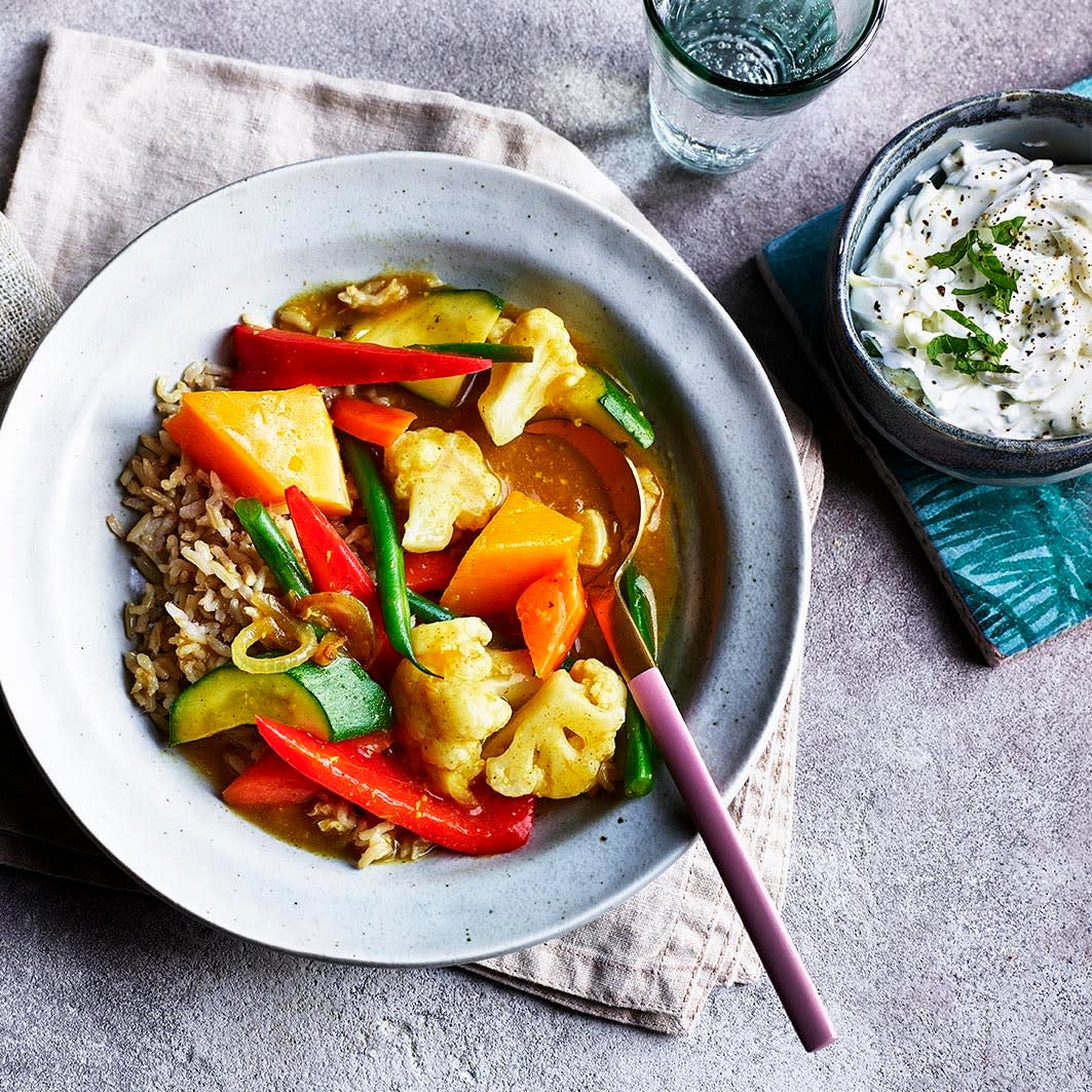 Photo of Quick vegetable curry by WW