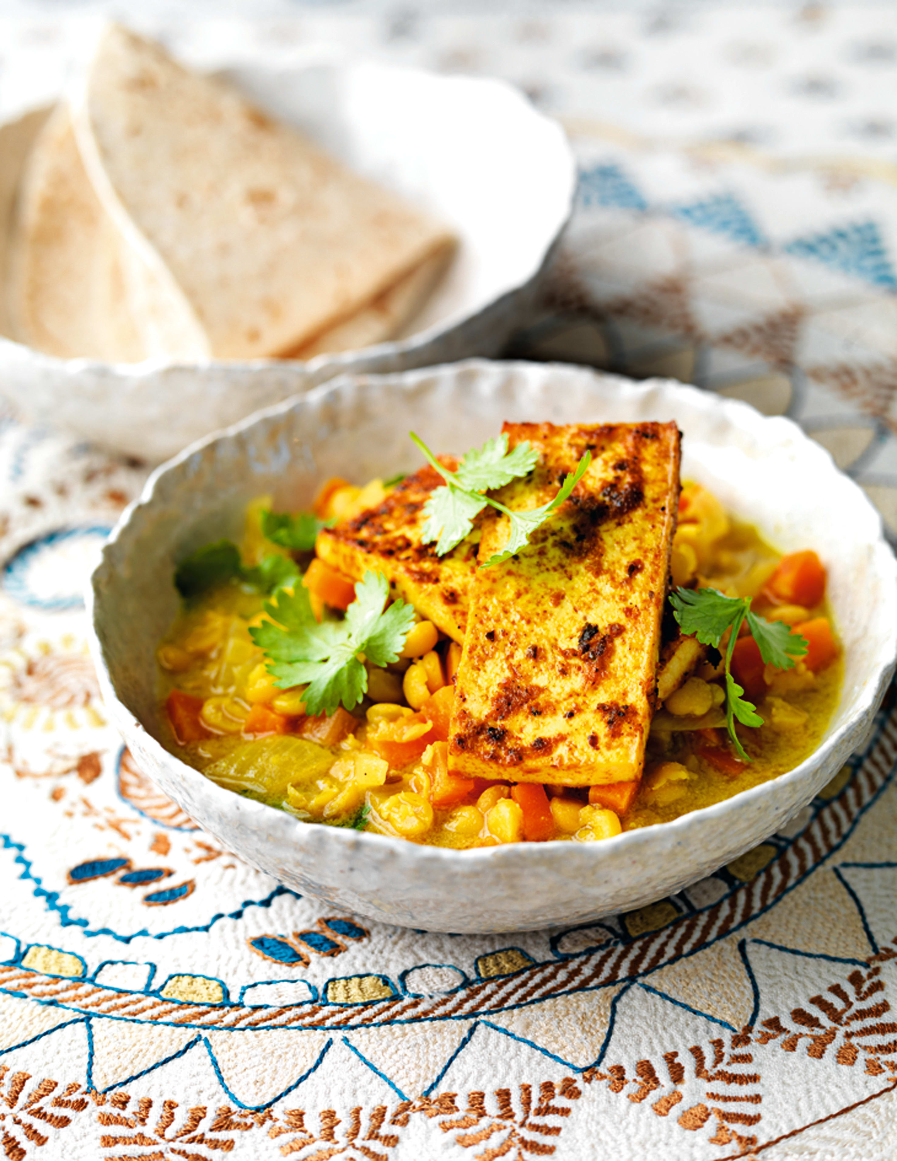 Photo of Yellow pea & tofu curry by WW