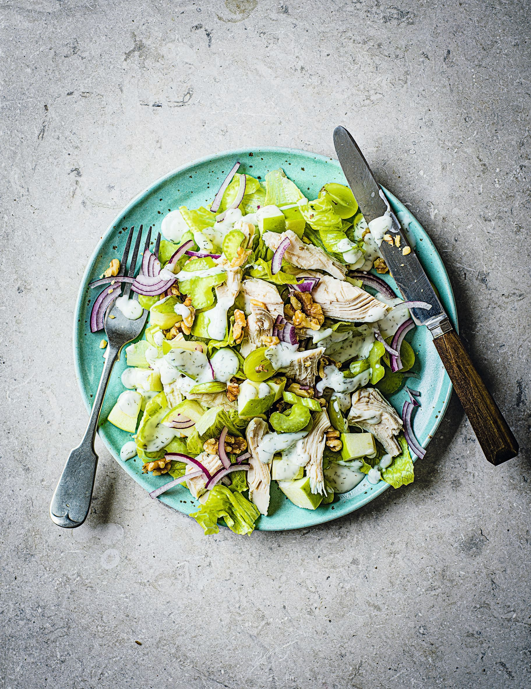 Photo of Roast chicken Waldorf salad by WW