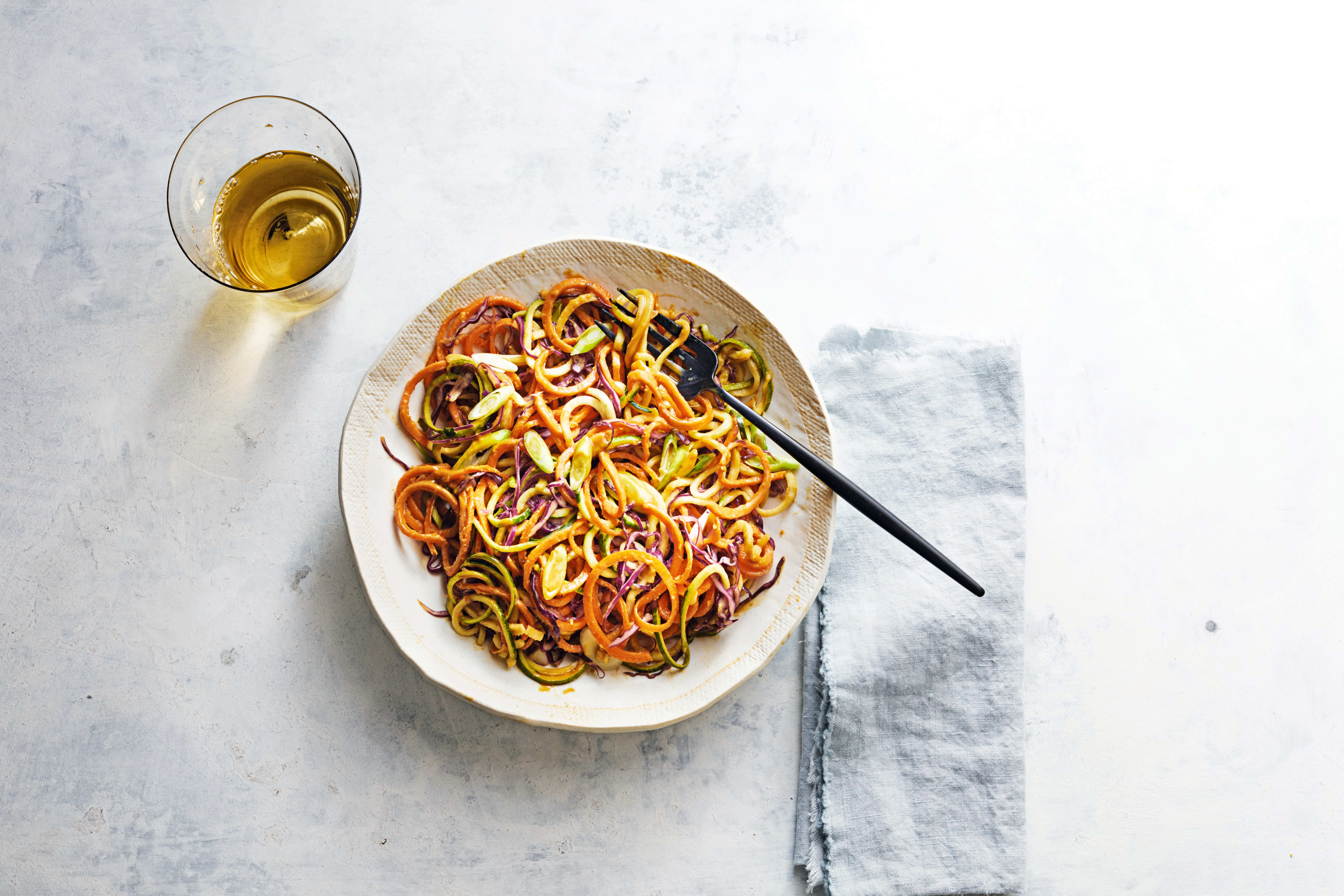 Photo of Satay vegetable noodles by WW