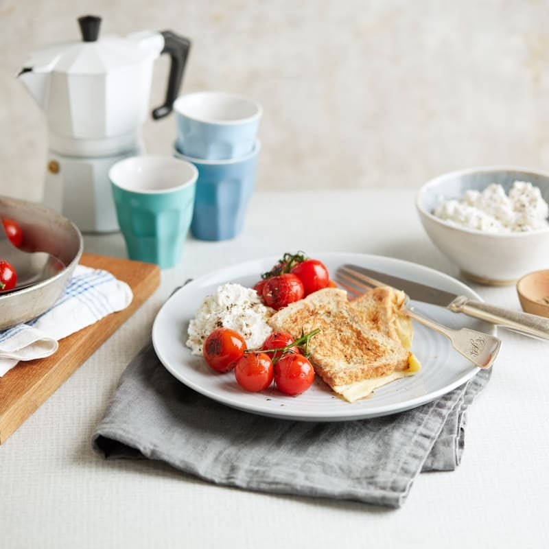 Photo of Eggy bread with tomatoes & ricotta by WW
