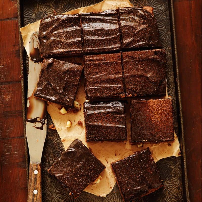 Photo of Triple chocolate brownie by WW