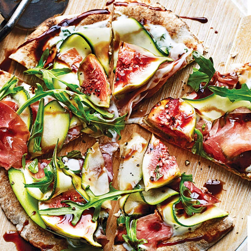 Photo of Prosciutto, fig & rocket pizza by WW